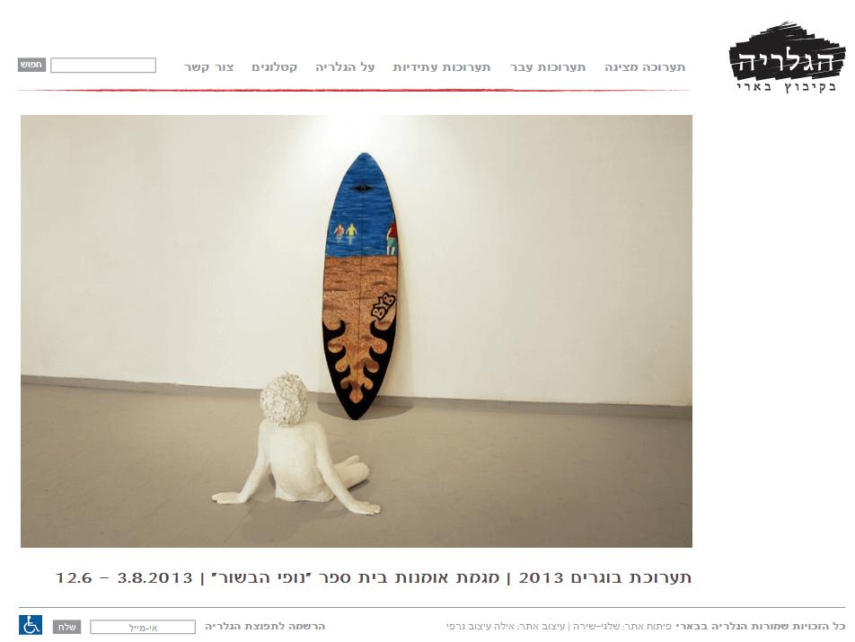 אתר אינטרנט: גלריה בארי