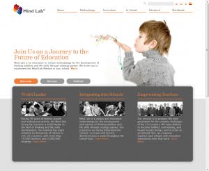 בניית אתר אינטרנט לפרויקט לקוח: מיינדלאב