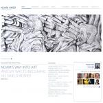 אתר אינטרנט: נועם עומר