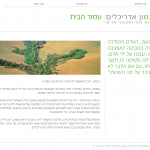 אתר אינטרנט: שלמה אהרונסון אדריכלים