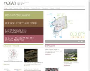בניית אתר אינטרנט לפרויקט לקוח: סאיה אדריכלים