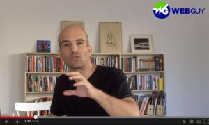 דניאל שלגי-שירה בסרטון וידאו על קידום אתרים או פרסום