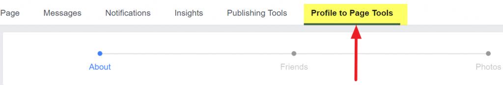 להפוך פרופיל לעמוד עסקי בפייסבוק